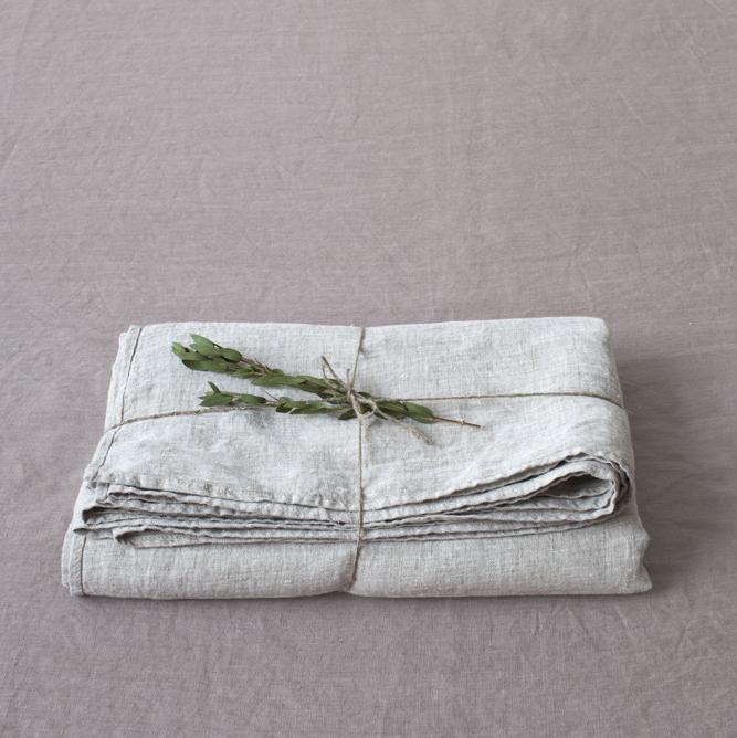 bettlaken aus vorgewaschenem leinenstoff beige melange natur leinen der vertrauensw rdige. Black Bedroom Furniture Sets. Home Design Ideas